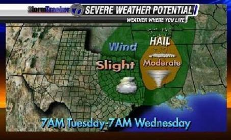 Severe weather possible Tuesday afternoon and evening - KLTV | Stormy Weather | Scoop.it