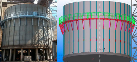 Creating an access for the internal maintenance of an old silo | Grain Storage Trends and Innovations Worldwide | Scoop.it