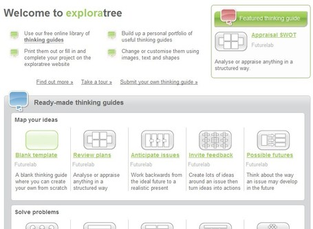 Exploratree - Exploratree by FutureLab | Educational Technology and New Pedagogies | Scoop.it