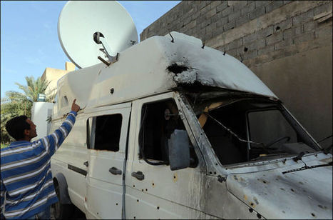 Journalists targeted in Tripoli - magharebia.com | Saif al Islam | Scoop.it