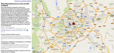 Mapa Stop Desahucios en enero de 2012 en Madrid | Los mapas del #15M | Scoop.it