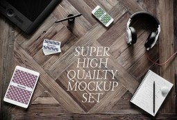 Download Freebies: 5 High-Quality Photographic Mockups   Freebies   Scoop.it