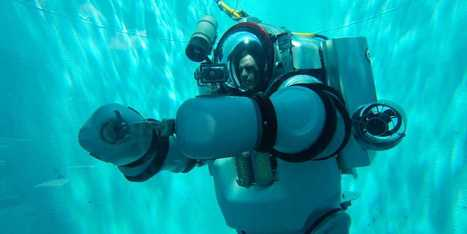 This 500-Pound Metal Suit Can Take Humans To Incredible New Ocean Depths | Daily Magazine | Scoop.it