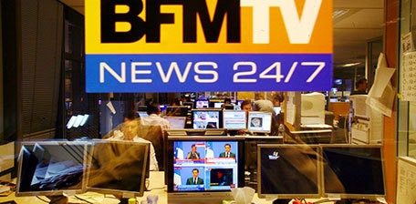 Carton plein pour les audiences de BFMTV avec les attentats | DocPresseESJ | Scoop.it