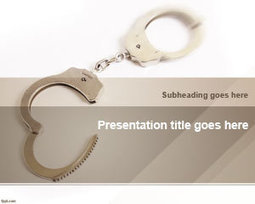 Free Handcuffs PowerPoint Template | Free Powerpoint Templates | grid computing | Scoop.it