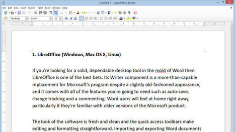Les meilleures alternatives gratuites à Microsoft Word | Le Top des Applications Web et Logiciels Gratuits | Scoop.it