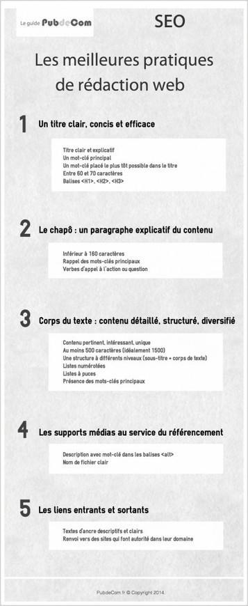 SEO : techniques de rédaction web pour un bon référencement naturel - PubdeCom   Veille et médias sociaux   Scoop.it