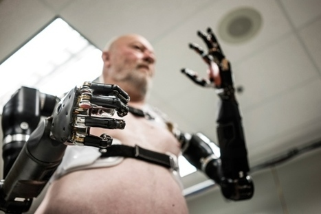"The Pentagon's gamble on brain implants, bionic limbs and combat exoskeletons | L'impresa ""mobile"" 