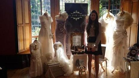 "The Wedding Fete on Twitter: ""@MelanieJamesB with her beautiful handmade wedding dresses #weddingdress #weddings #sparkle http://t.co/CYzqT7leGQ"" | a la mode | Scoop.it"