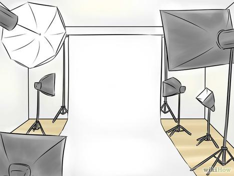 Comment faire une séance photo de pro à la maison | Photo numérique CQFD | Scoop.it