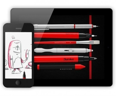 Zeichnen auf dem iPad: Die besten Apps fürs mobile Grafikdesign | Ipad in der Schule | Scoop.it