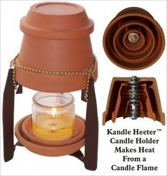 How To Heat Up Your Room Using Just a Candle: Kandle Heeter! | The Green Optimistic | A Sense of the Ridiculous | Scoop.it