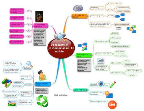 Support de présentation des cartes mentales V2.... | Mindmapping | Scoop.it