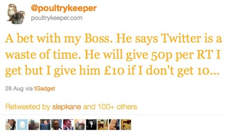 How To Get 23,000 Retweets And Earn £11,000 From A Single Tweet | Business Wales - Socially Speaking | Scoop.it