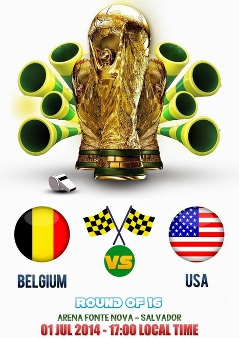 Belgium Vs USA Live Online Streaming VRT RTBF ESPC USA FIFA World Cup 2014 | Blogging | Scoop.it