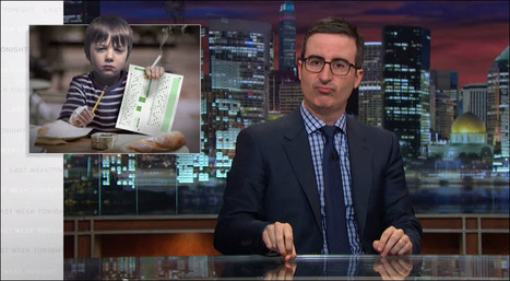 What's Wrong With Standardized Testing? Watch John Oliver Offer His Analysis | Library Media Skills K-12 | Scoop.it