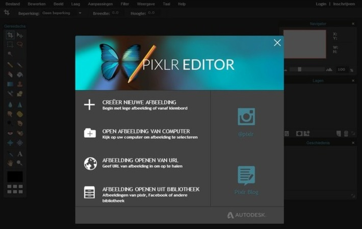 Edu-Curator: Met Pixlr maak je gratis kleurplaten van je eigen foto's | Educatief Internet - Gespot op 't Web | Scoop.it