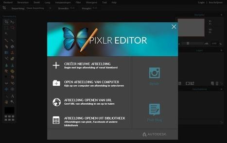Edu-Curator: Met Pixlr maak je gratis kleurplaten van je eigen foto's | Tools en tips onderwijs | Scoop.it