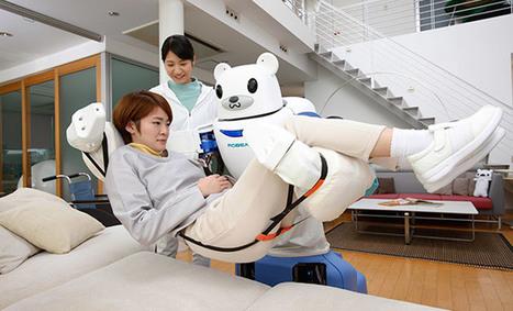 ROBEAR, robot cuidador que ayuda a los pacientes a levantarse de la cama   Wearables, sensors, medical devices   Scoop.it