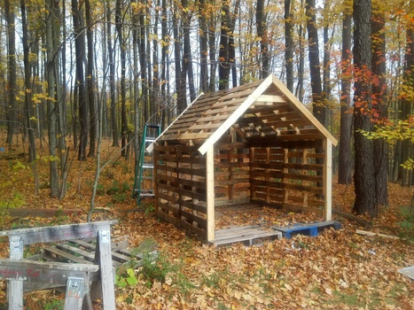 how to build a small shed out of wood | Woodworking Community