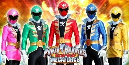 Power Rangers Supermegaforce Se Estrena En Clan | Noticias Anime [es] | Scoop.it