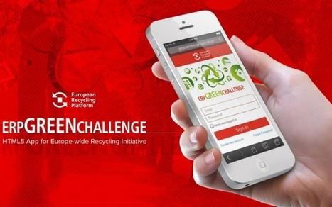 ERP Green Challenge, l'app che aiuta il riciclo di rifiuti tecnologici - Data manager online | RiKrea | Scoop.it