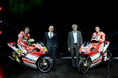 2014 Ducati MotoGP Team Livery Revealed! | Ducati.net | Desmopro News | Scoop.it