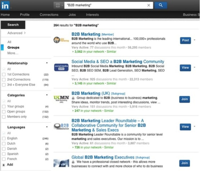 The B2BNN guide to LinkedIn Groups - B2B News Network   Business in a Social Media World   Scoop.it