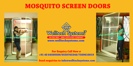 Welltech Mosquito Mesh Frames | Mosquito Screens Hyderabad | Scoop.it