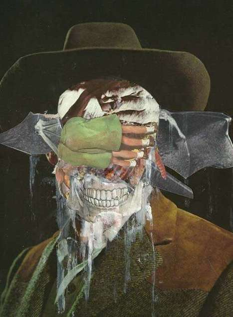 Ghoulish Creepy Collages (UPDATED) | Arte y Fotografía | Scoop.it