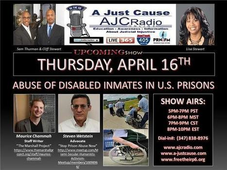 A Just Cause Coast 2 Coast - Abuse of Disabled Inmates in U.S. Prisons | SocialAction2014 | Scoop.it