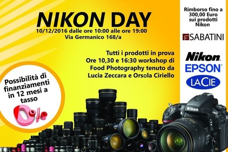 Nikon Day! Atelier, Formazione & Workshops | @FoodMeditations Time | Scoop.it