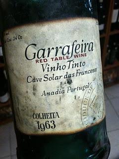 airdiogo num copo: Cave Solar das Francesas Garrafeira Colheita 1963 | Carpe Diem | Scoop.it
