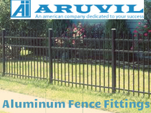 Why aluminum is preferable fencing material among the buyers? | Aruvil International Inc | Scoop.it