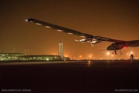 Solar-powered plane's round-the-world journey underway! | Green Prophet | Arabian Peninsula | Scoop.it
