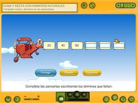 Suma y resta con números naturales | AULA 2013 - Primaria | Matematica | Scoop.it