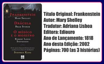 Resumo da Ópera: Resenha: Frankenstein   Ficção científica literária   Scoop.it
