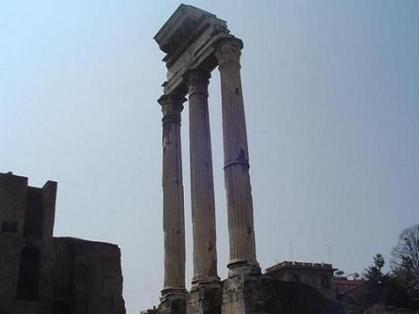 El misterioso Templo de los Dioscuros | El Panteón romano | Scoop.it