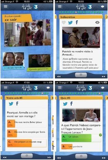 Une expérience inédite de «TV augmentée» autour de Plus belle la vie | Nouvelles écritures et transmedia | Scoop.it