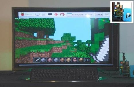 Running Minecraft PE 0.13b5 on a 2 year old $49 Raspberry Pi version A.  Who said computing was expensive?   Raspberry Pi   Scoop.it