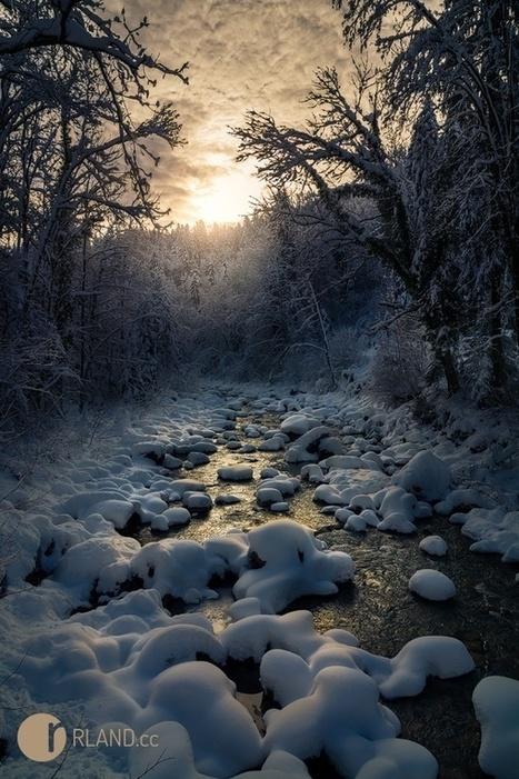 19 Breathtaking Photos of Winter Wonderlands Around the World   Communication design   Scoop.it