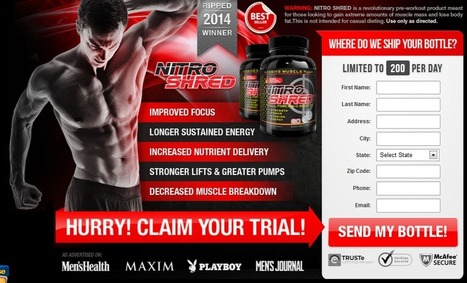 Nitro Shred Review - GET FREE TRIAL SUPPLIES LIMITED!!! | Muscle Building Tips | Scoop.it