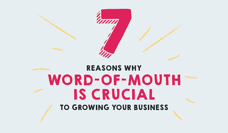 7 Reasons Why Word-Of-Mouth is an Essential Part of Marketing Your Business | Kore Social Mix | Scoop.it