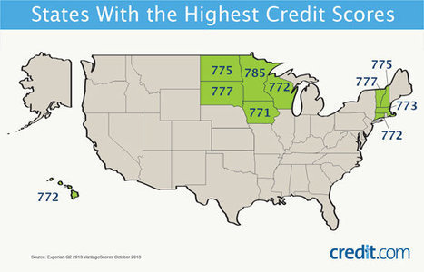 The States With the Highest Credit Scores | Personal Finance | Scoop.it
