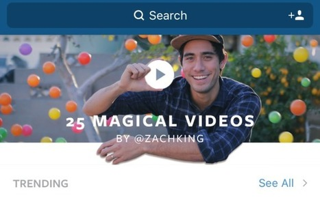 Instagram Launches Personalized Video Feed And Themed Channels InExplore I TechCrunch | SOCIAL LISTENING | Scoop.it