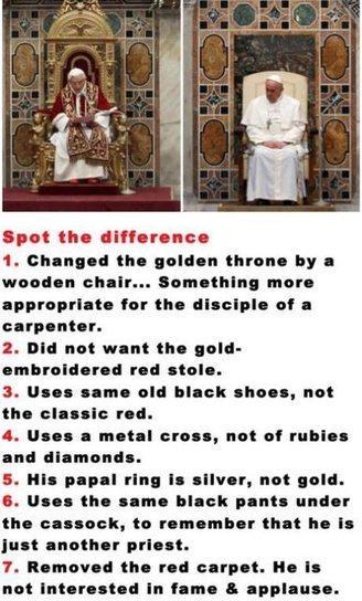Good guy pope Francis. | Religion | Scoop.it
