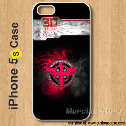 30 Seconds To Mars Custom iPhone 5s Case Cover | Merchanstore - Accessories on ArtFire | Custom iPhone 5s Case Cover | Scoop.it