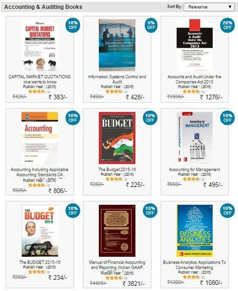Online Accounting Book Store | Accounting Books - Law, Lega and Taxation Books | Scoop.it