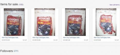 Archéologie moderne: des jeux vidéo Atari déterrés et vendus aux enchères sur ... - Slate.fr | L'univers des jeux | Scoop.it