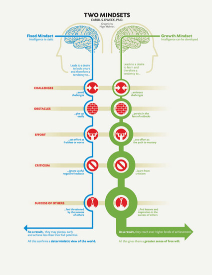 Fixed vs. Growth: The Two Basic Mindsets That Shape Our Lives | Brain Pickings | Good Advice | Scoop.it